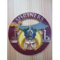 Emblema masónico para el carro - Shriners