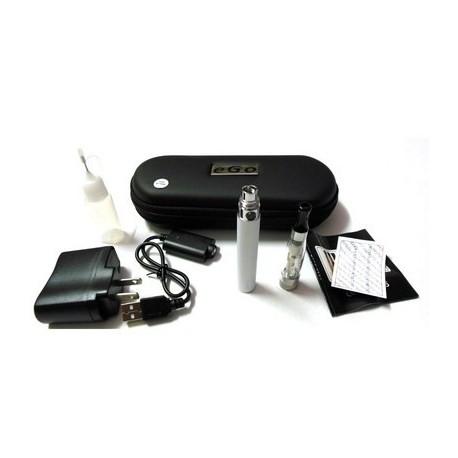 Cigarro Electrónico - Color Blanco - EGO-T Kit 650 mah - 1.6 ml CE4 Atomizer - Cargador USB - Estuche