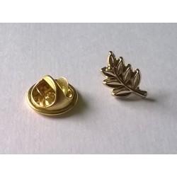 Pin Solapero-Dorado-Acacia-Broche Mariposa