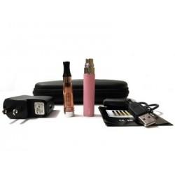 Cigarro Electrónico - Color Rosado - EGO-T Kit 650 mah - 1.6 ml CE4 Atomizer - Cargador USB - Estuche