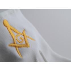 Guantes - Lycra - Bordados - Símbolos Masonicos